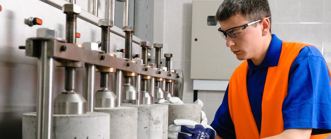 Лабораторные исследования строительных материалов