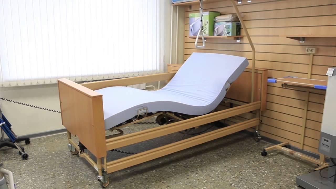 Что учитывать при выборе кровати для лежачего больного