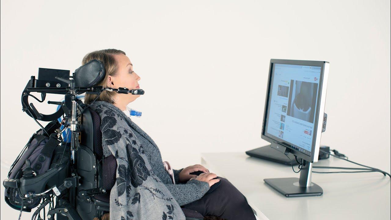 Кликнуть мышью взмахом брови: новая система управления для парализованных пациентов
