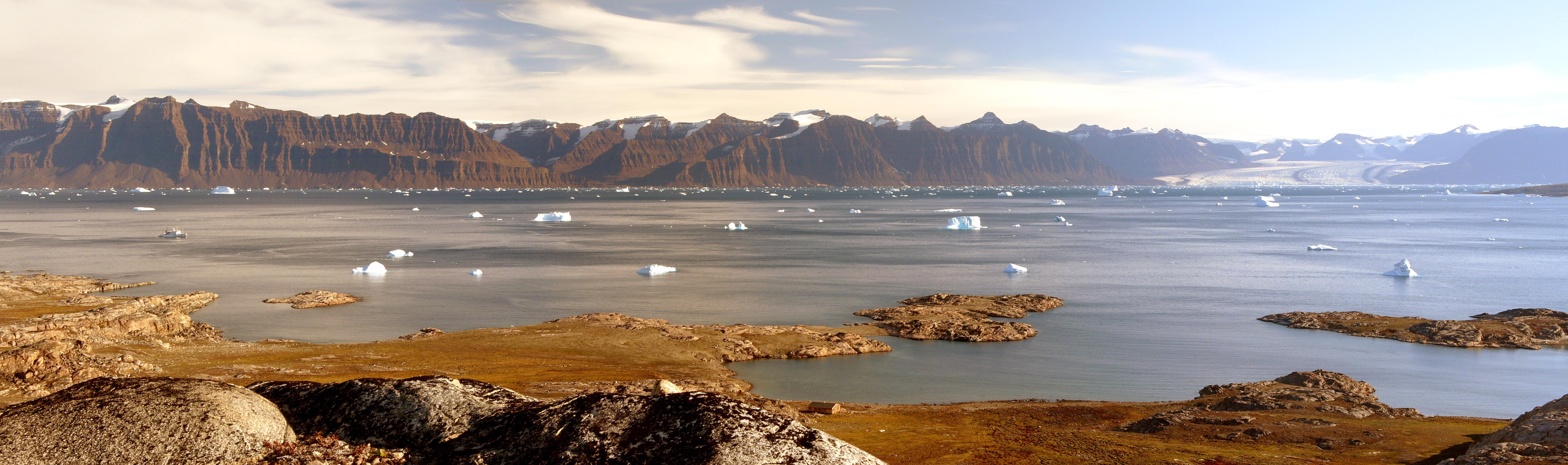 Арктика в ледниковый период: пресный океан под слоем льда