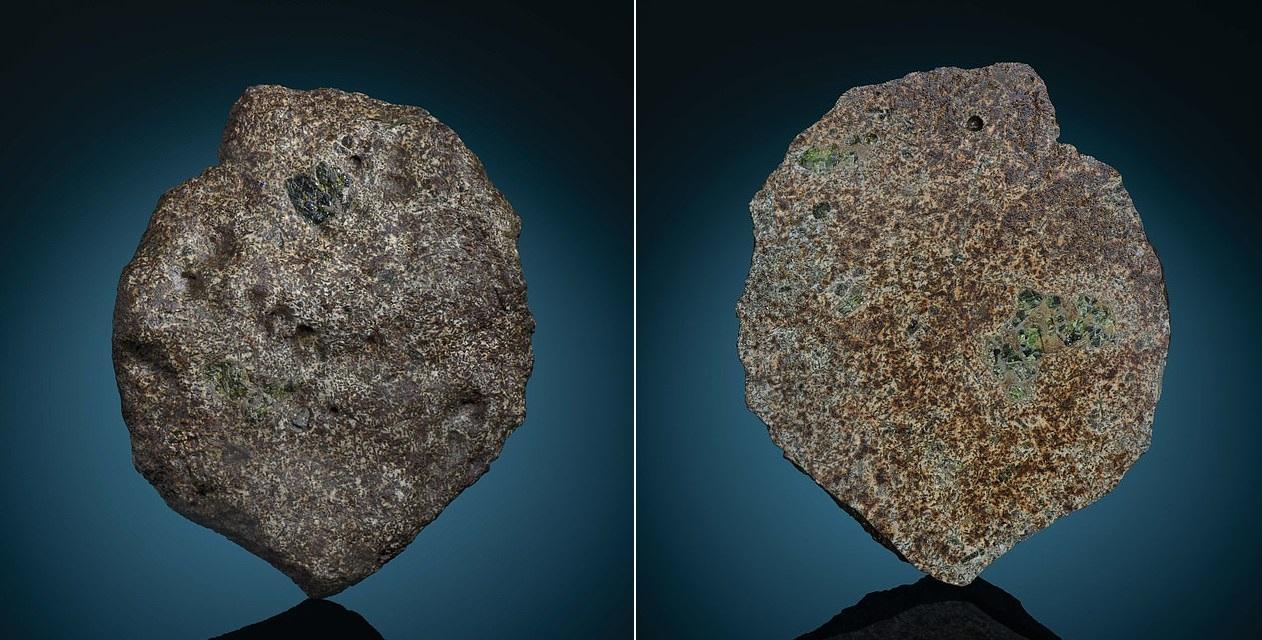 Метеорит из Сахары оказался фрагментом коры протопланеты