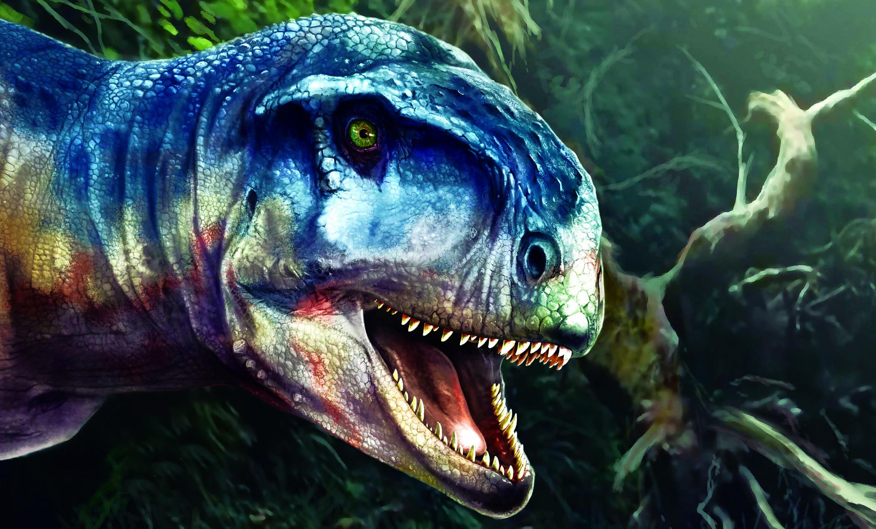 Обнаружен новый вид хищного динозавра, похожего на тираннозавра