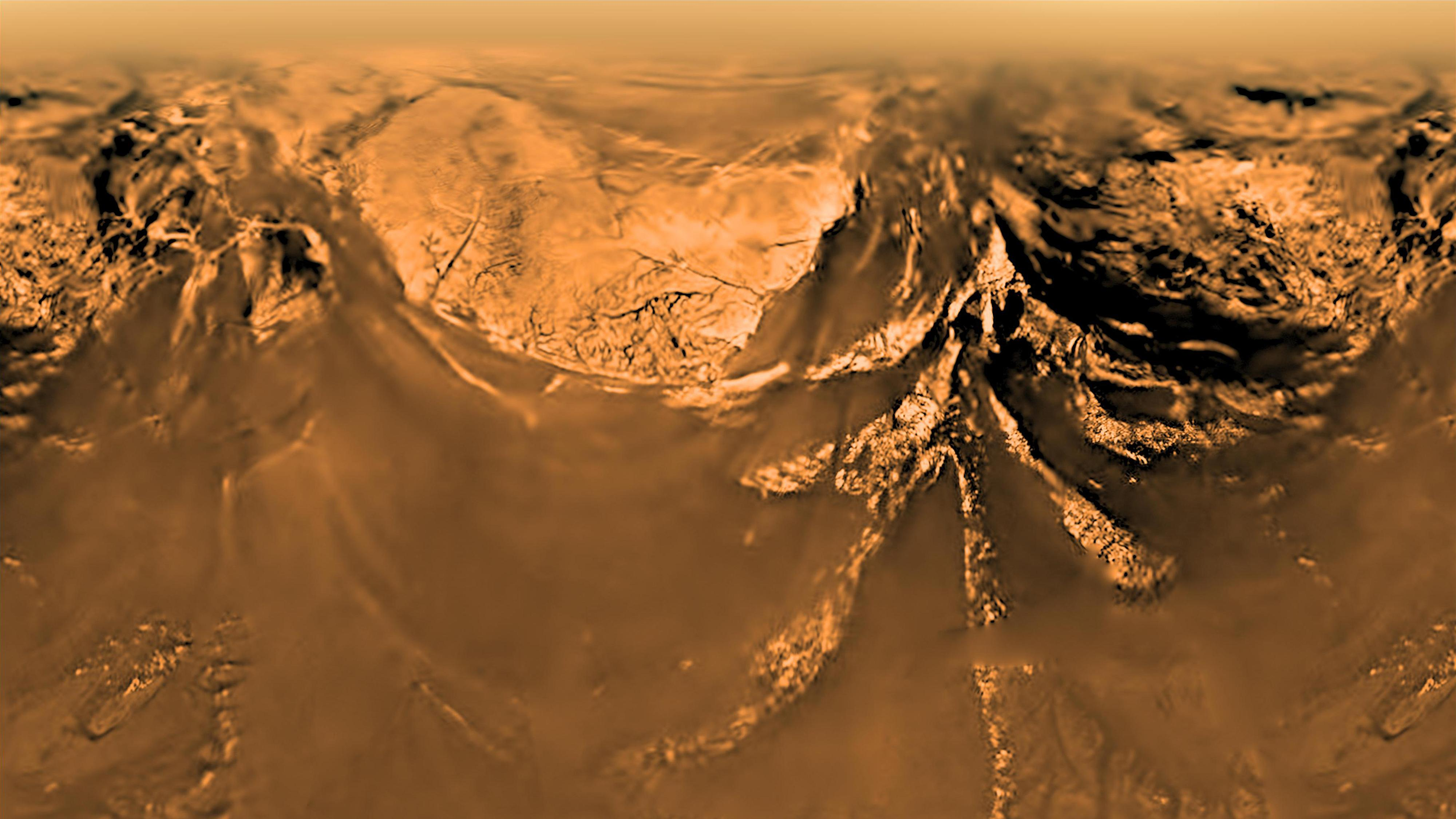 Кратер на Титане оказался подходящим местом для зарождения жизни