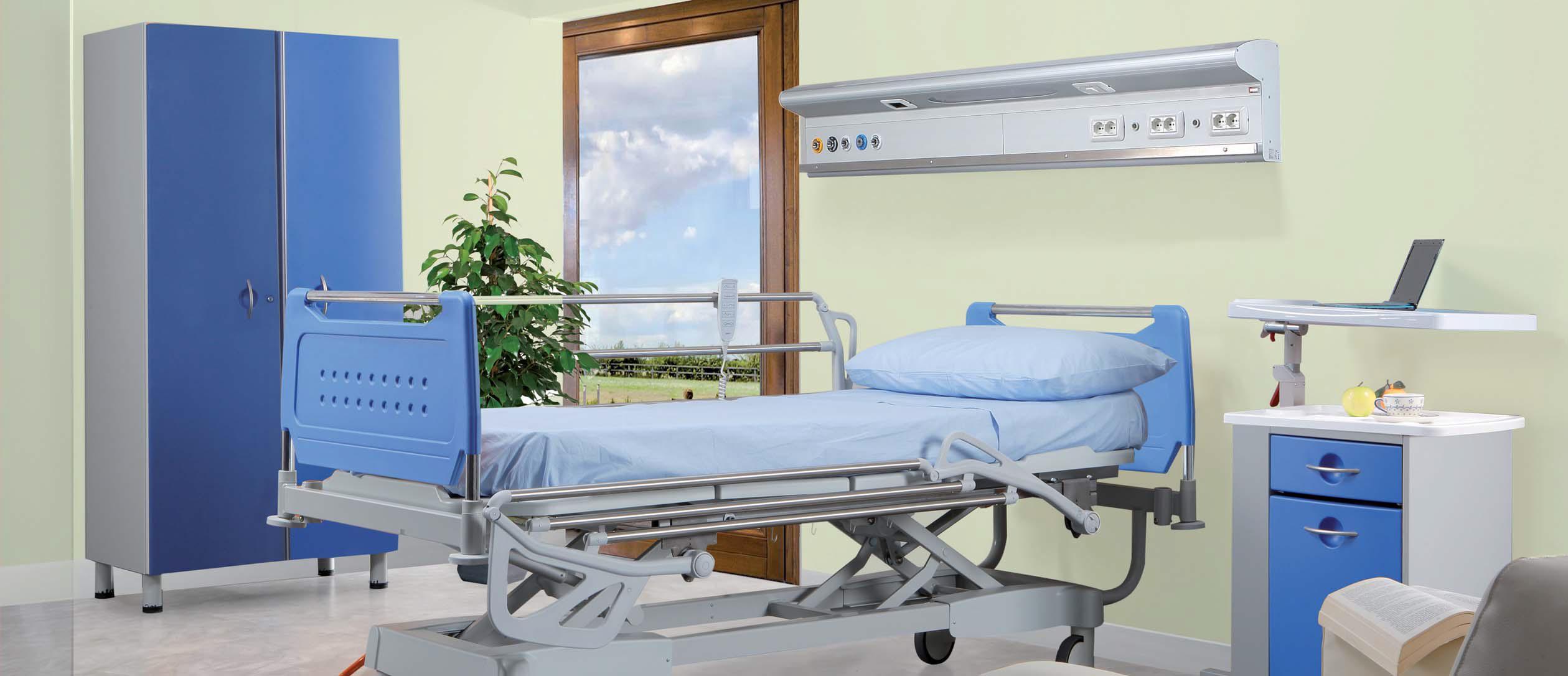 Типы подъемных кроватей для лежачих больных