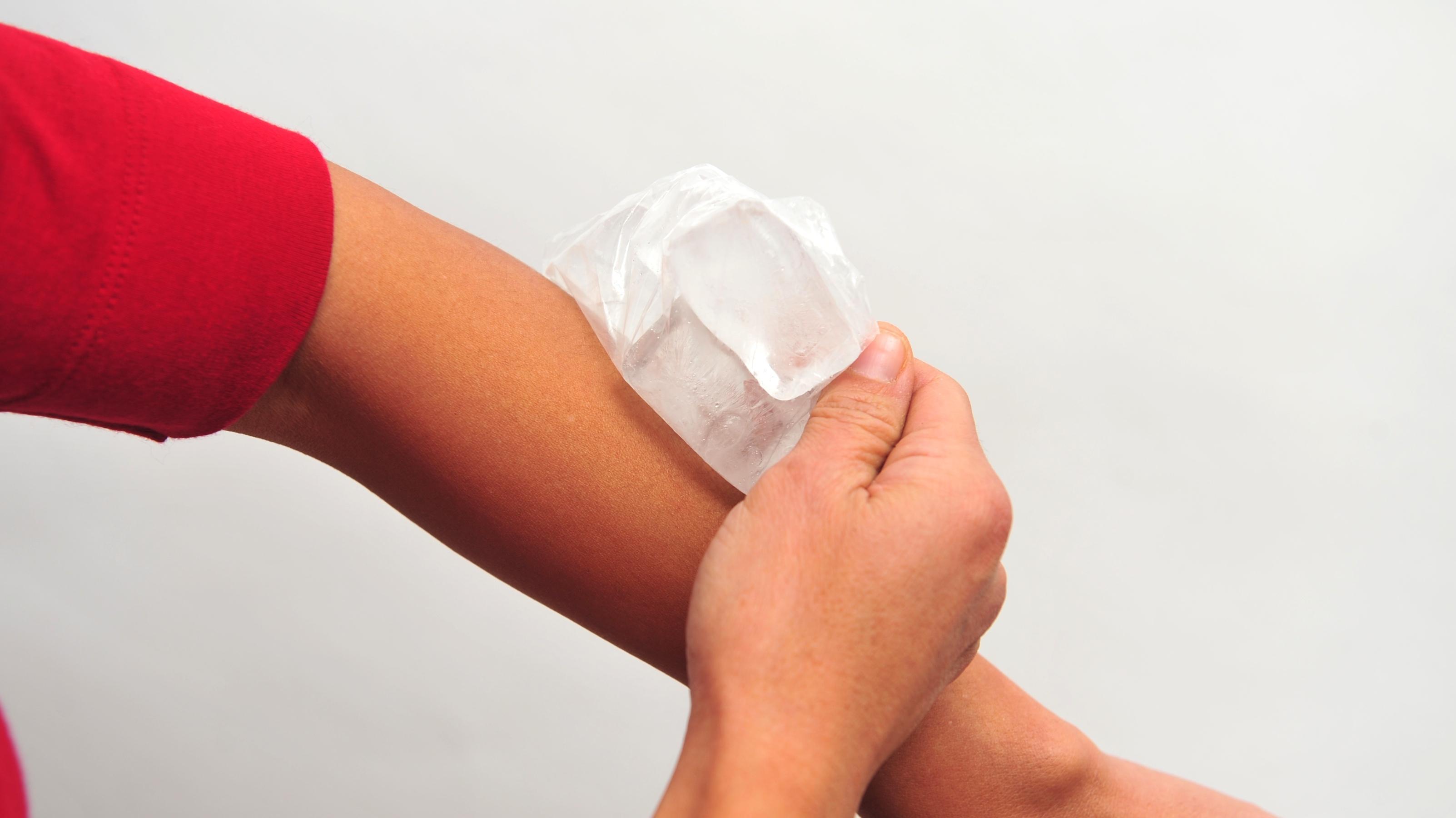Что происходит с мышцами, если прикладывать к ним лед после тяжелых нагрузок