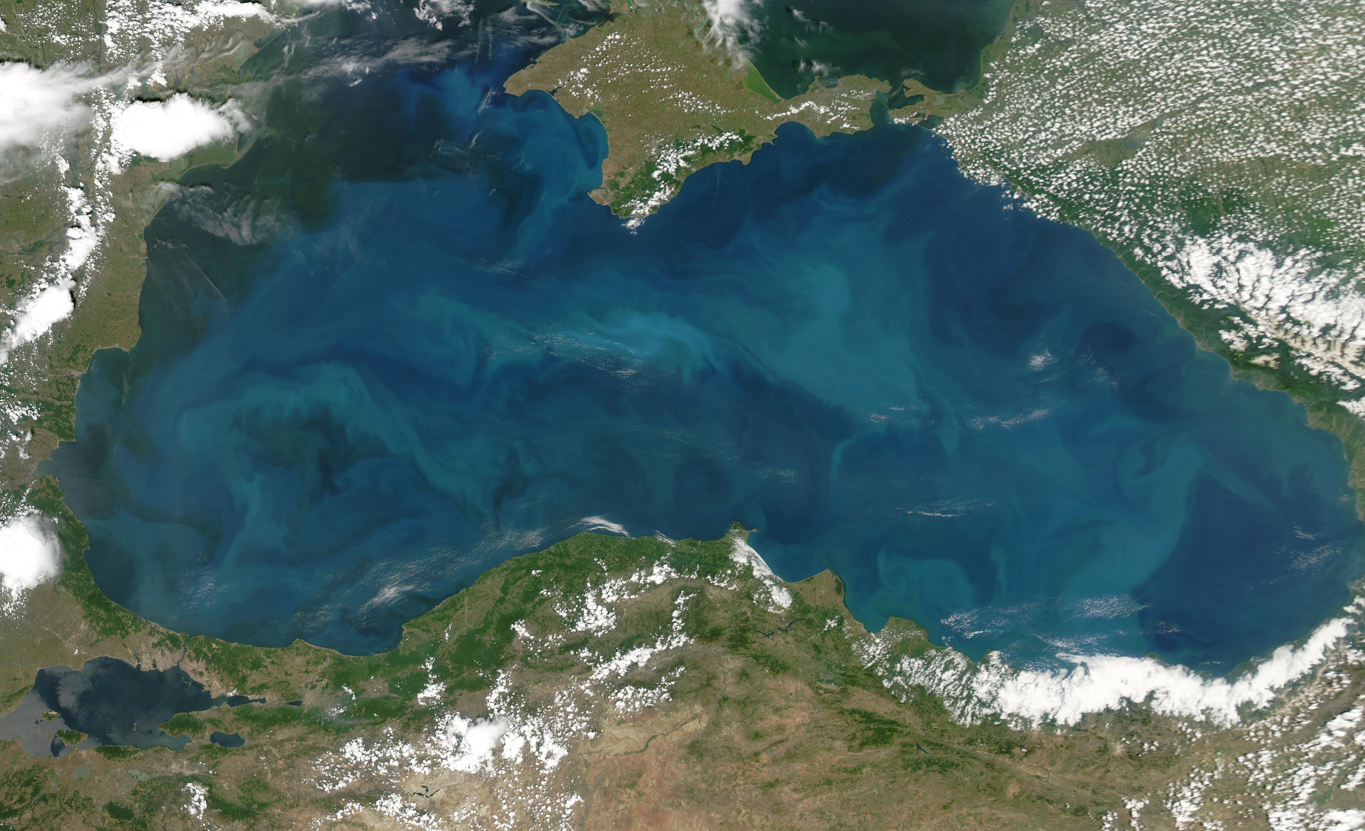 Черное море до сих пор «не пережило» ледниковый период, который завершился 12 тысяч лет назад