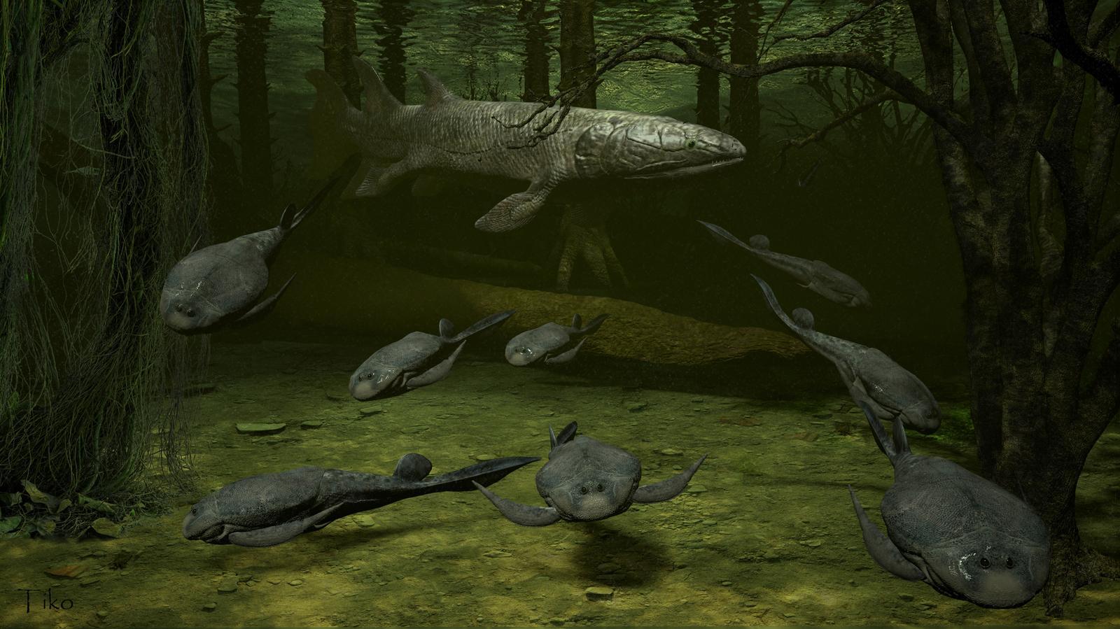Показано влияние вращения Земли на древнее массовое вымирание