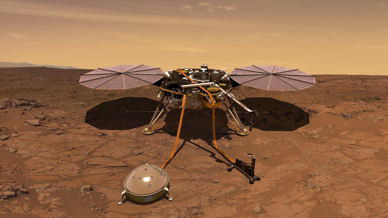 Зонд InSight зафиксировал два мощных и четких марсотрясения