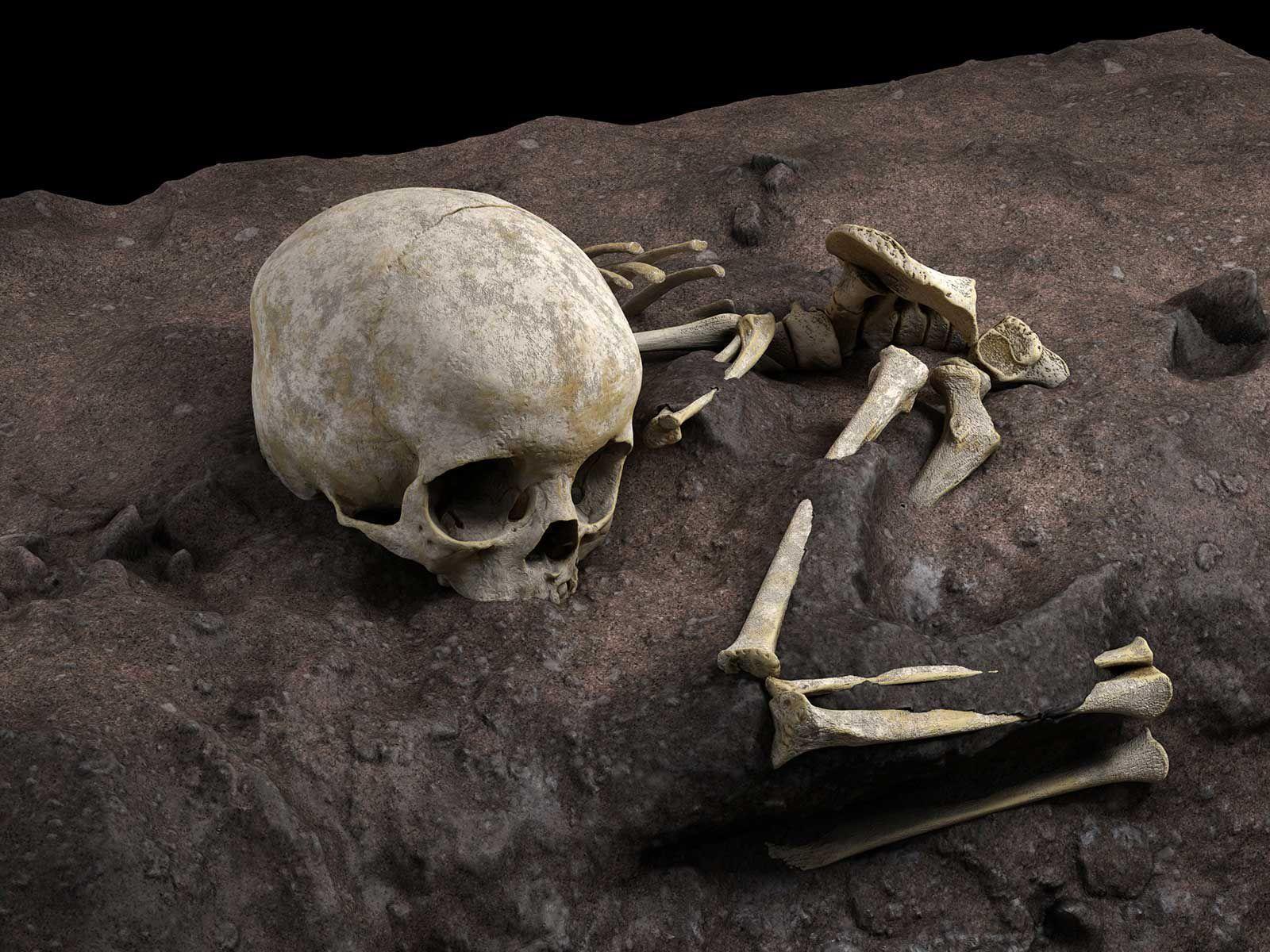 Археологи обнаружили древнейшее человеческое захоронение в Африке