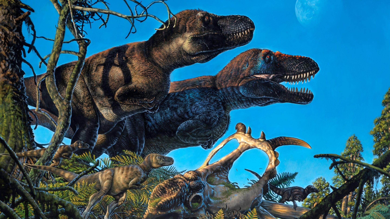 Появились свидетельства зимовья динозавров в Арктике