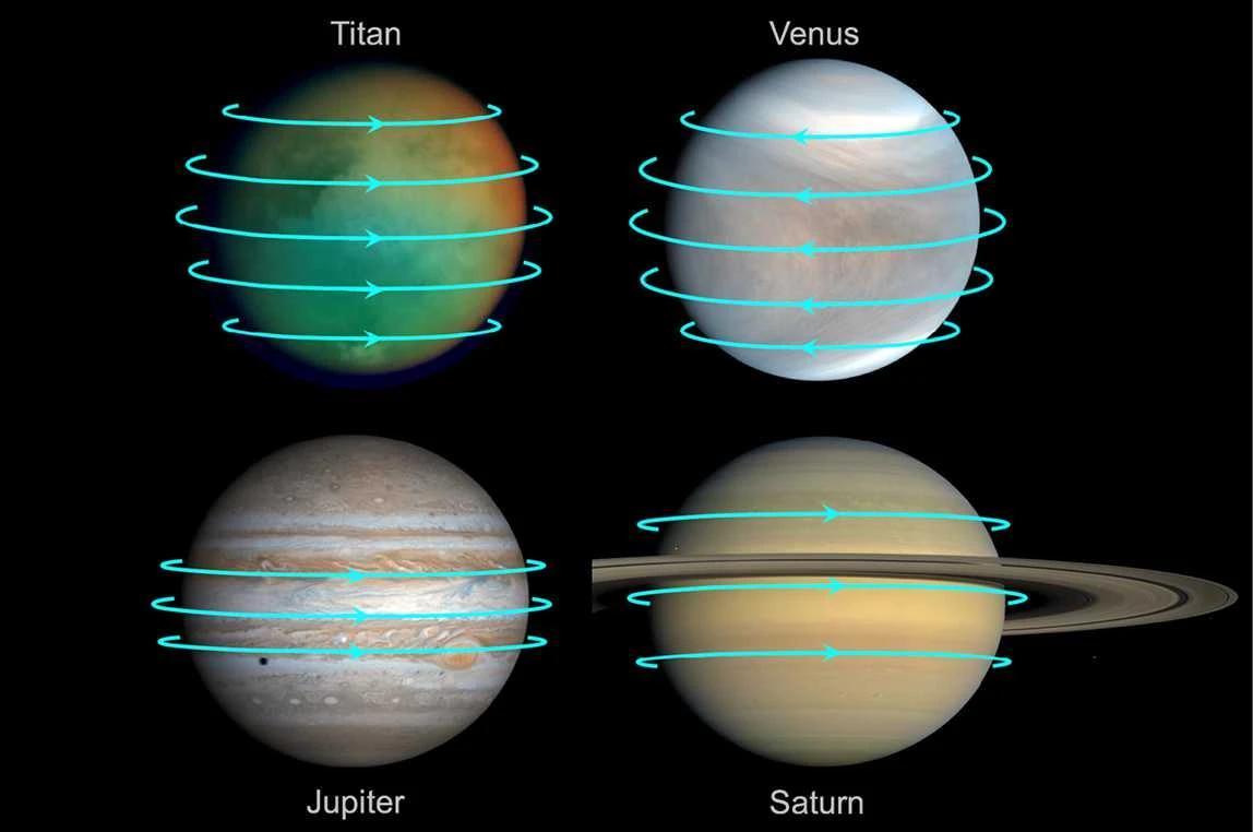 Ночная погода на Венере: облачно, переменный ураганный ветер, кислотные дожди