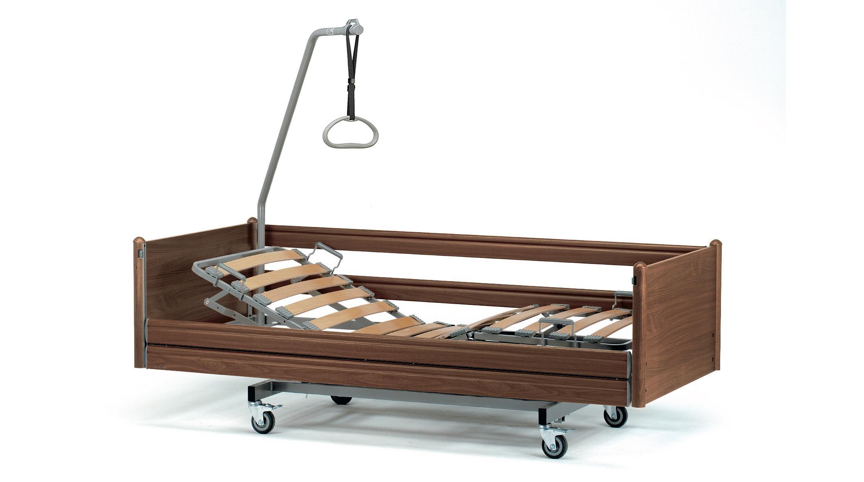 Чем отличается подъемный механизм в медицинской кровати от неподъемного