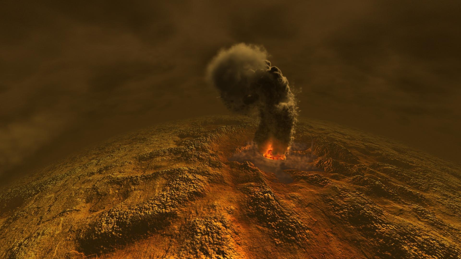 Появление фосфина на Венере объяснили вулканизмом