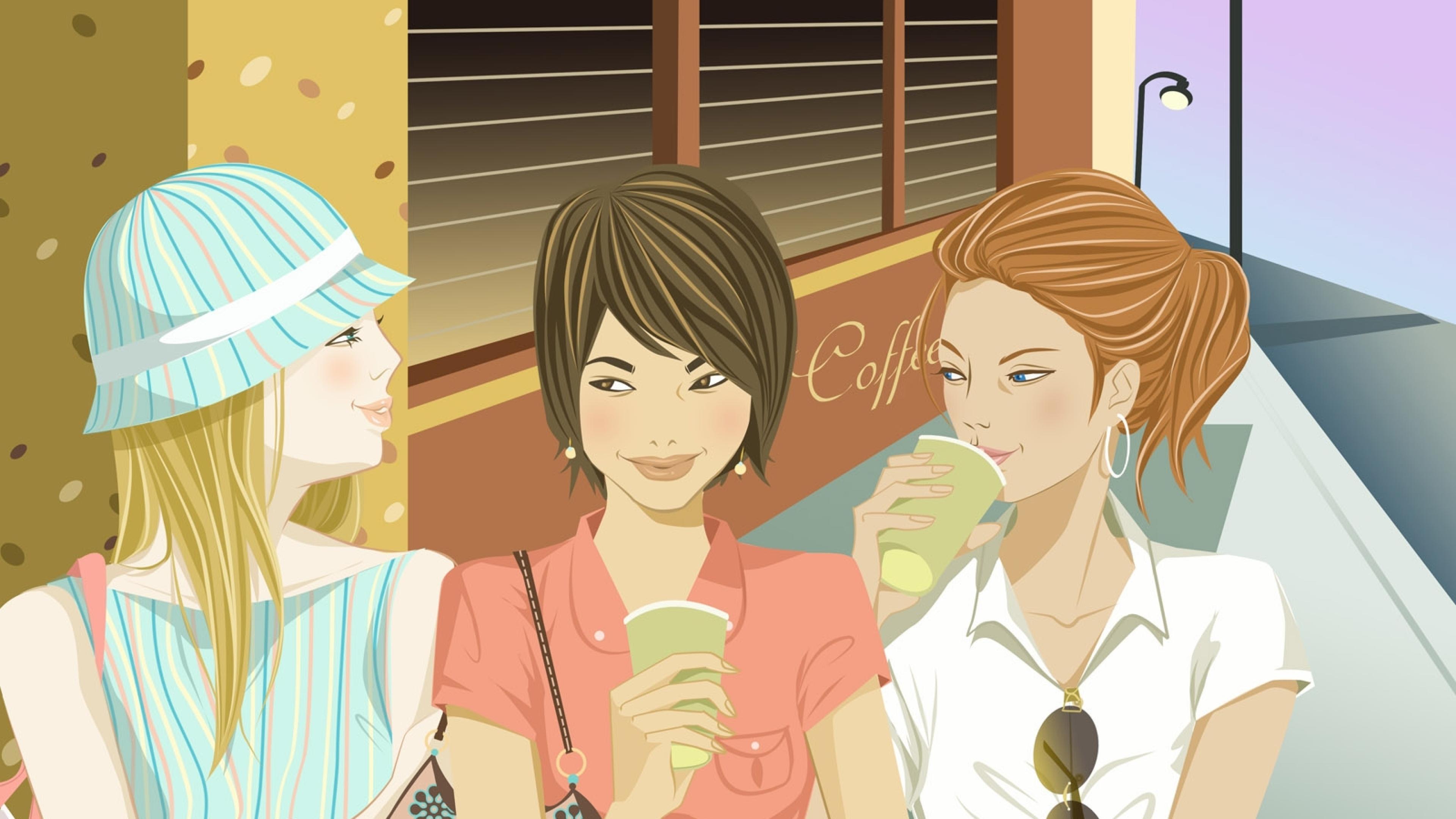Общение с подругами снизило уровень гормона стресса у женщин