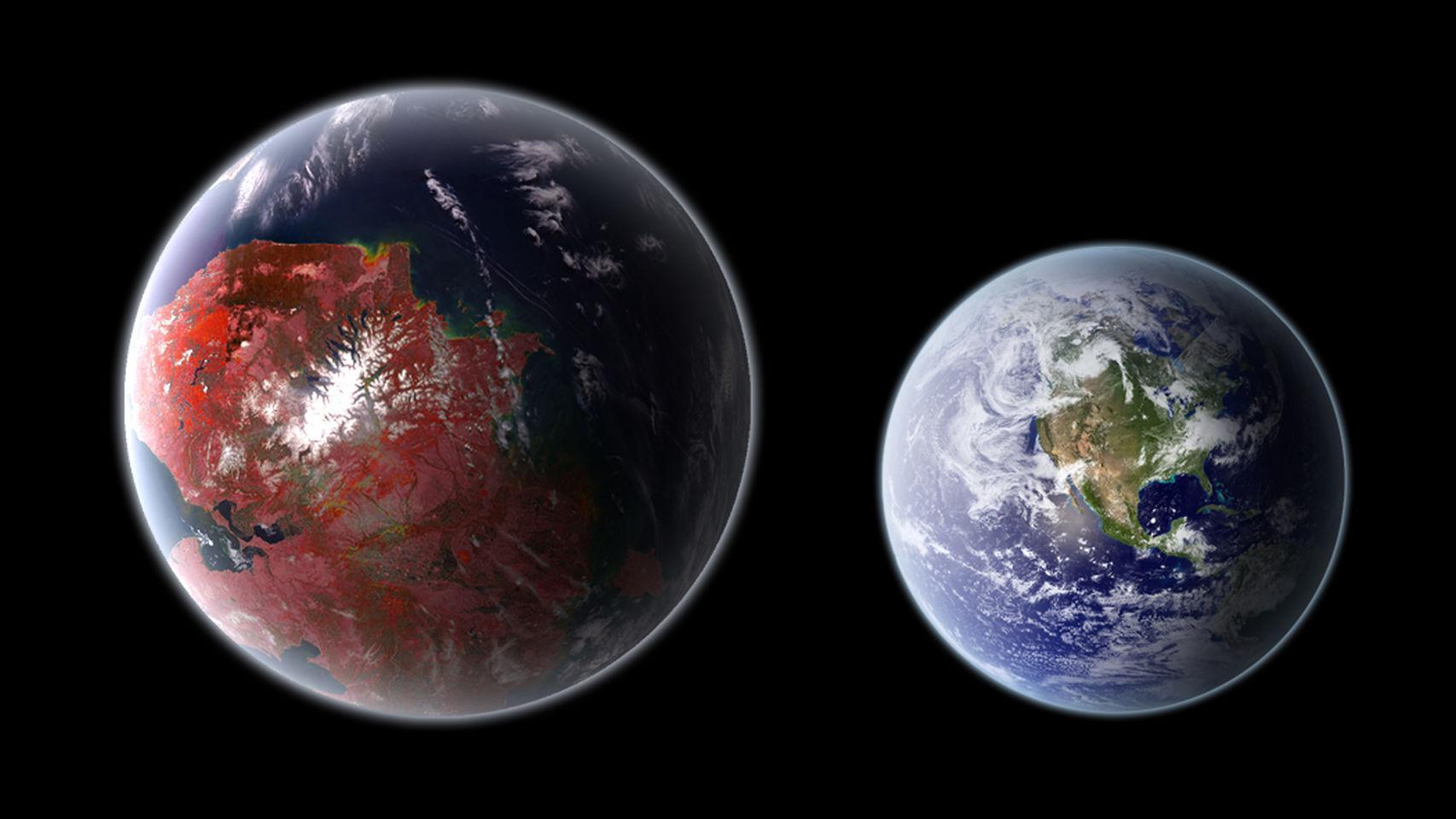 Биосферы земного типа оказались менее распространенными, чем считалось