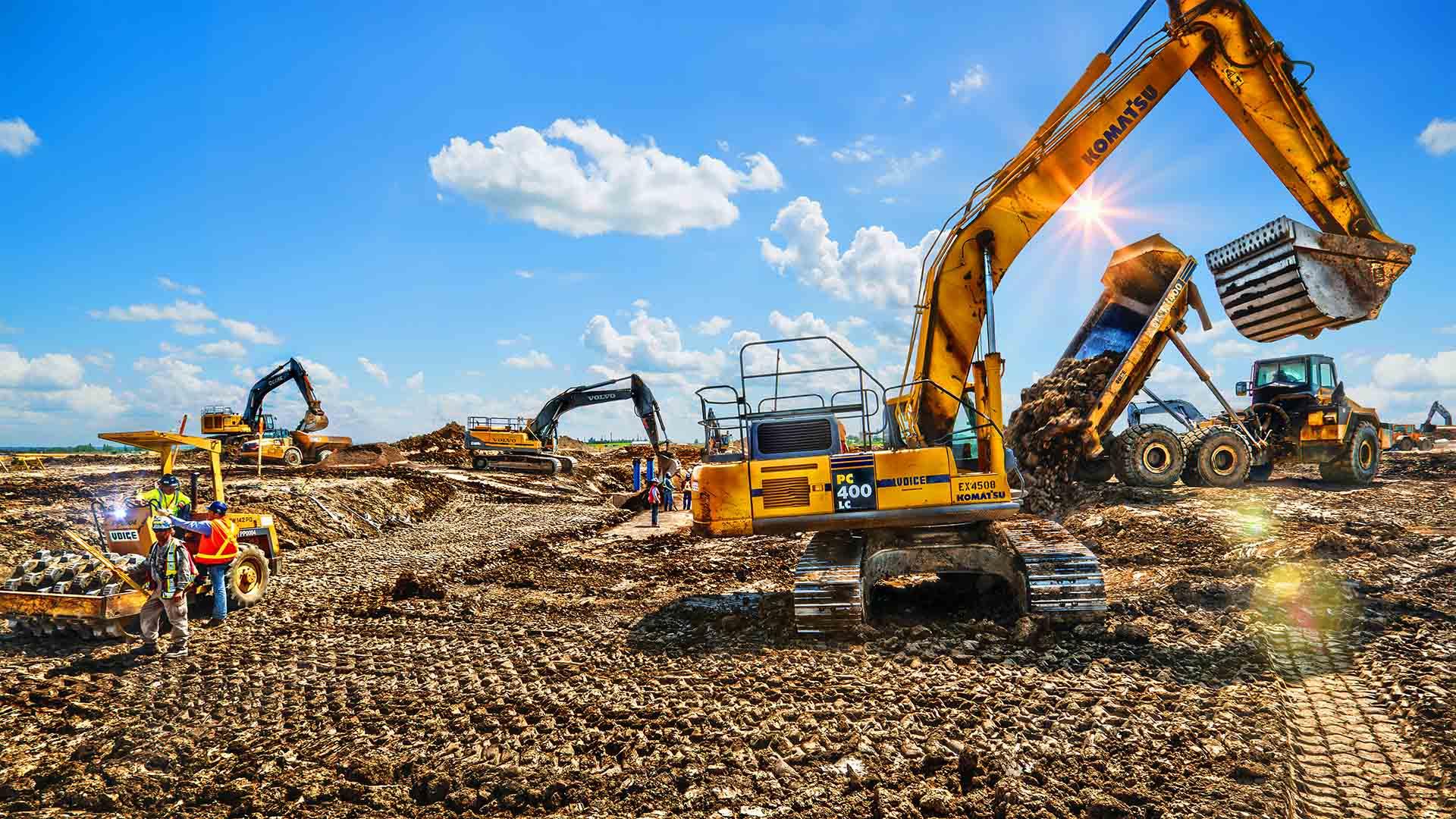 Аренда строительной техники - неоспоримая выгода