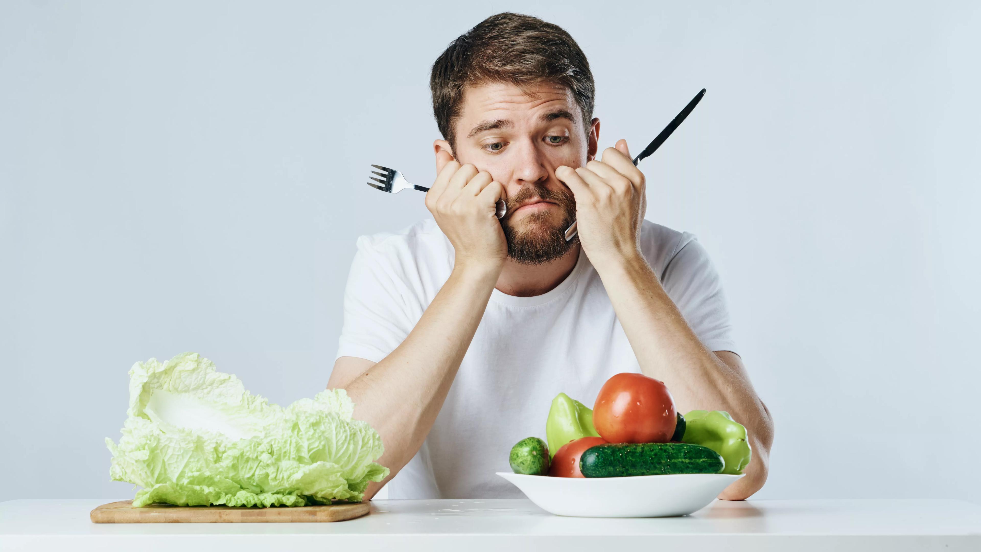 Вегетарианскую диету связали с депрессией