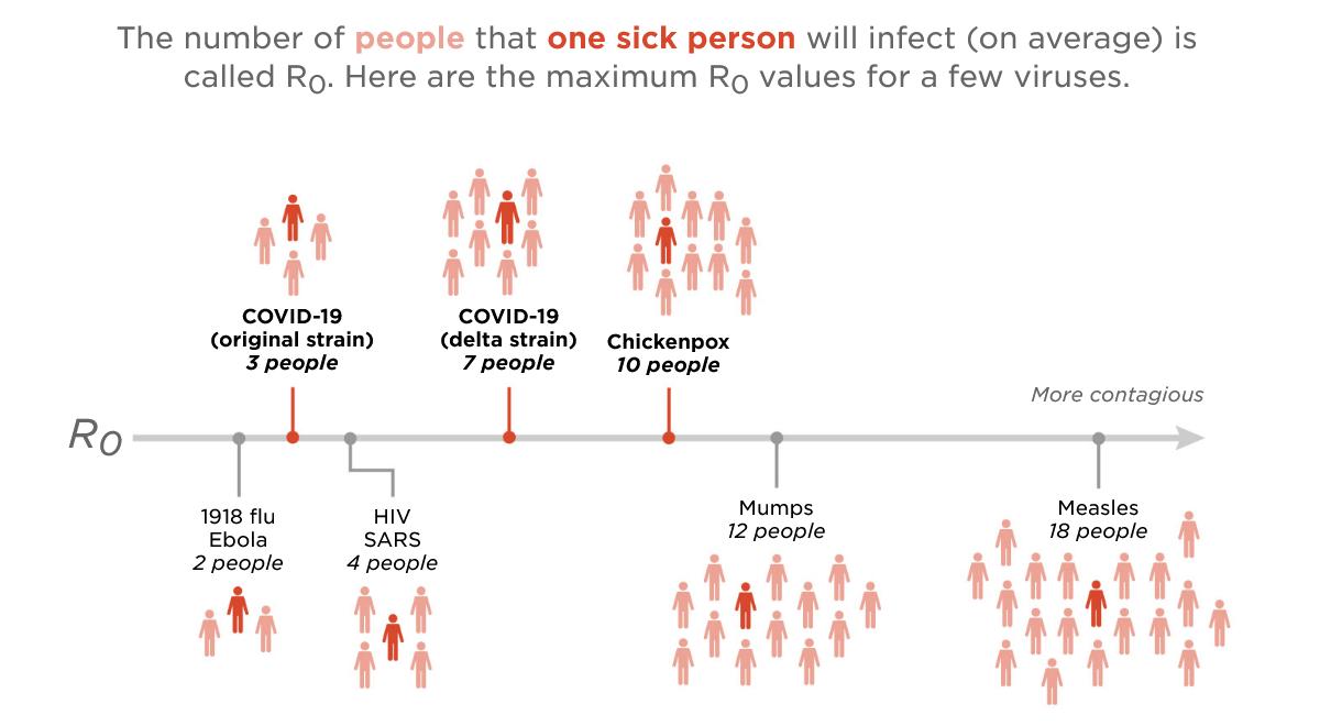 Заразность дельта-штамма коронавируса сравнили с ветрянкой. Ученые с этим не согласны