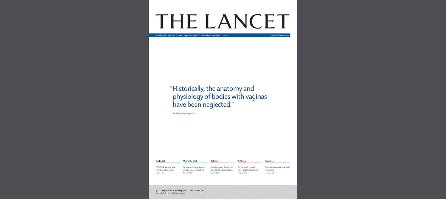 «Тела с вагинами»: как The Lancet пытался не обидеть трансгендеров, но обидел вообще всех