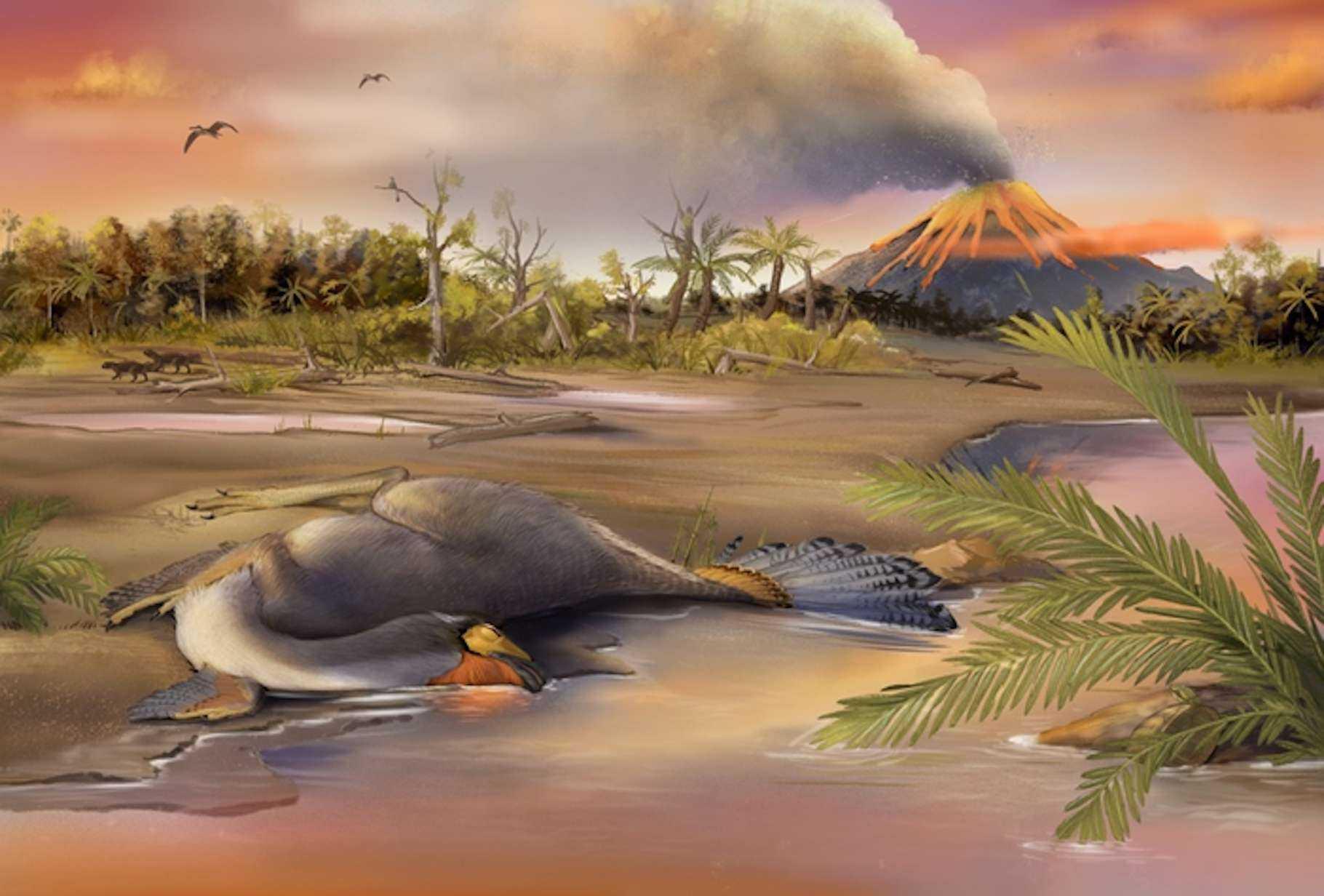 Палеонтологи выделили хорошо сохранившиеся клетки динозавра