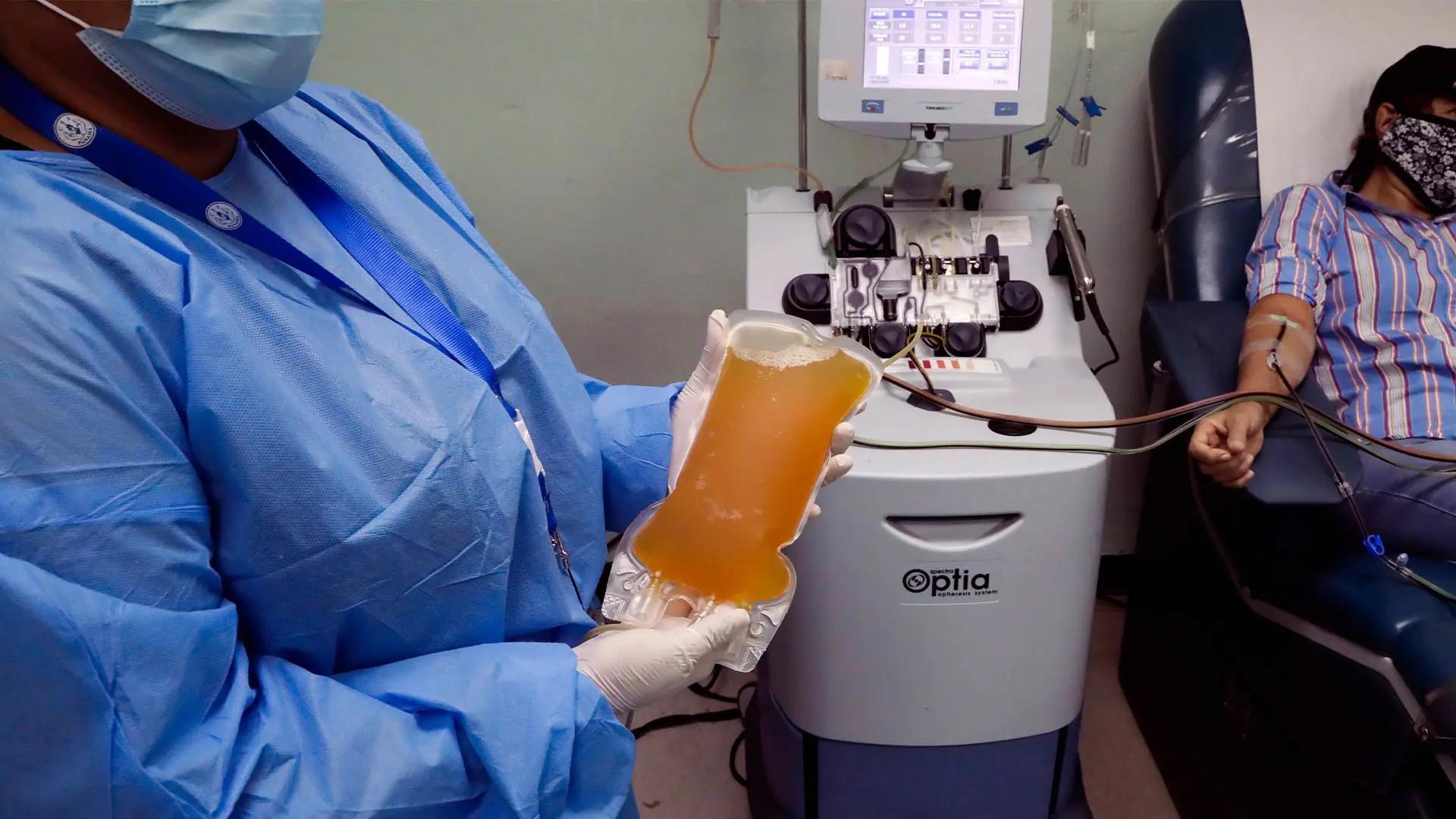 Плазма выздоравливающих от COVID-19 не помогает другим больным