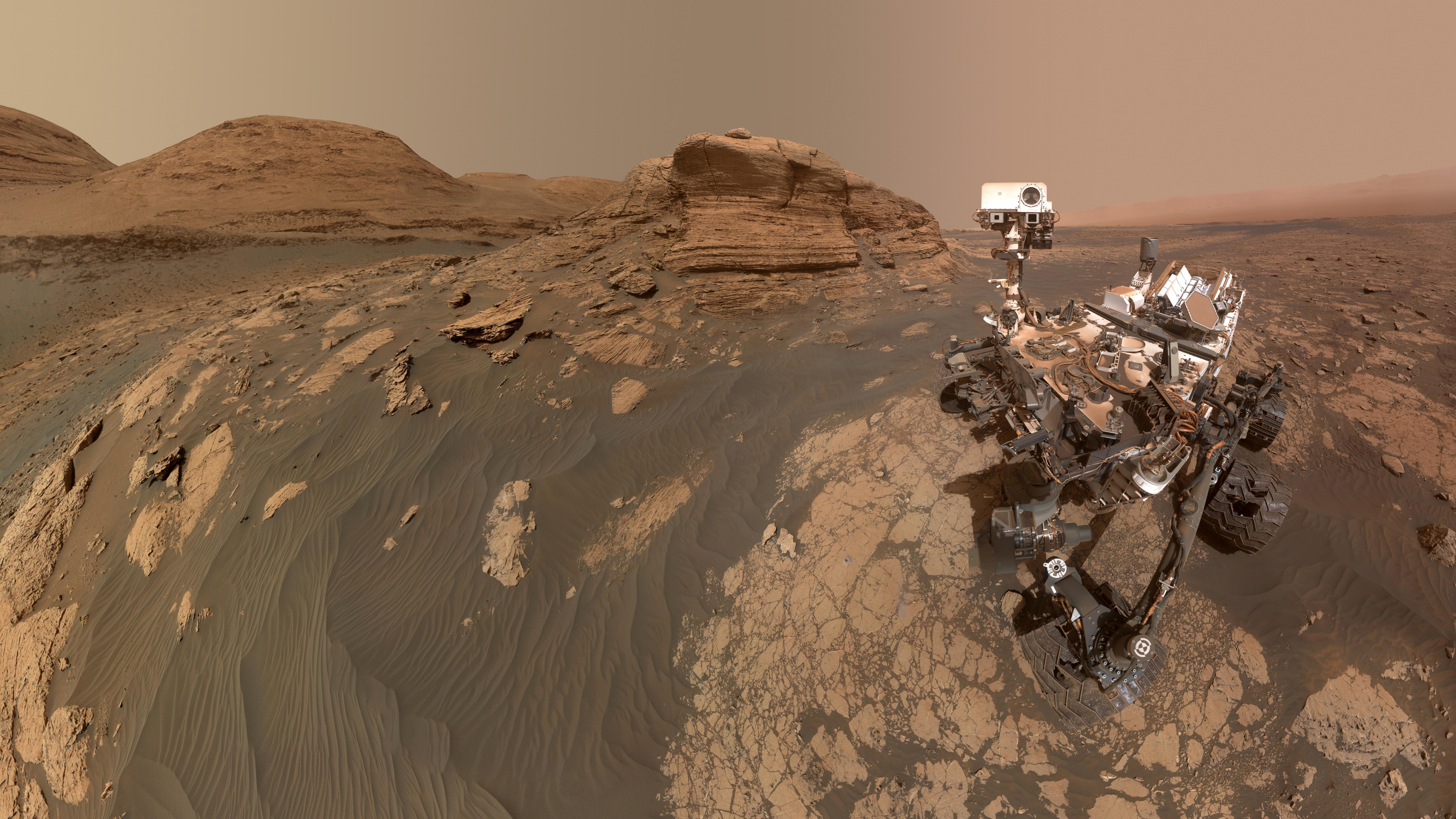 Blood, sweat and tears: жильё на Марсе из подручных материалов