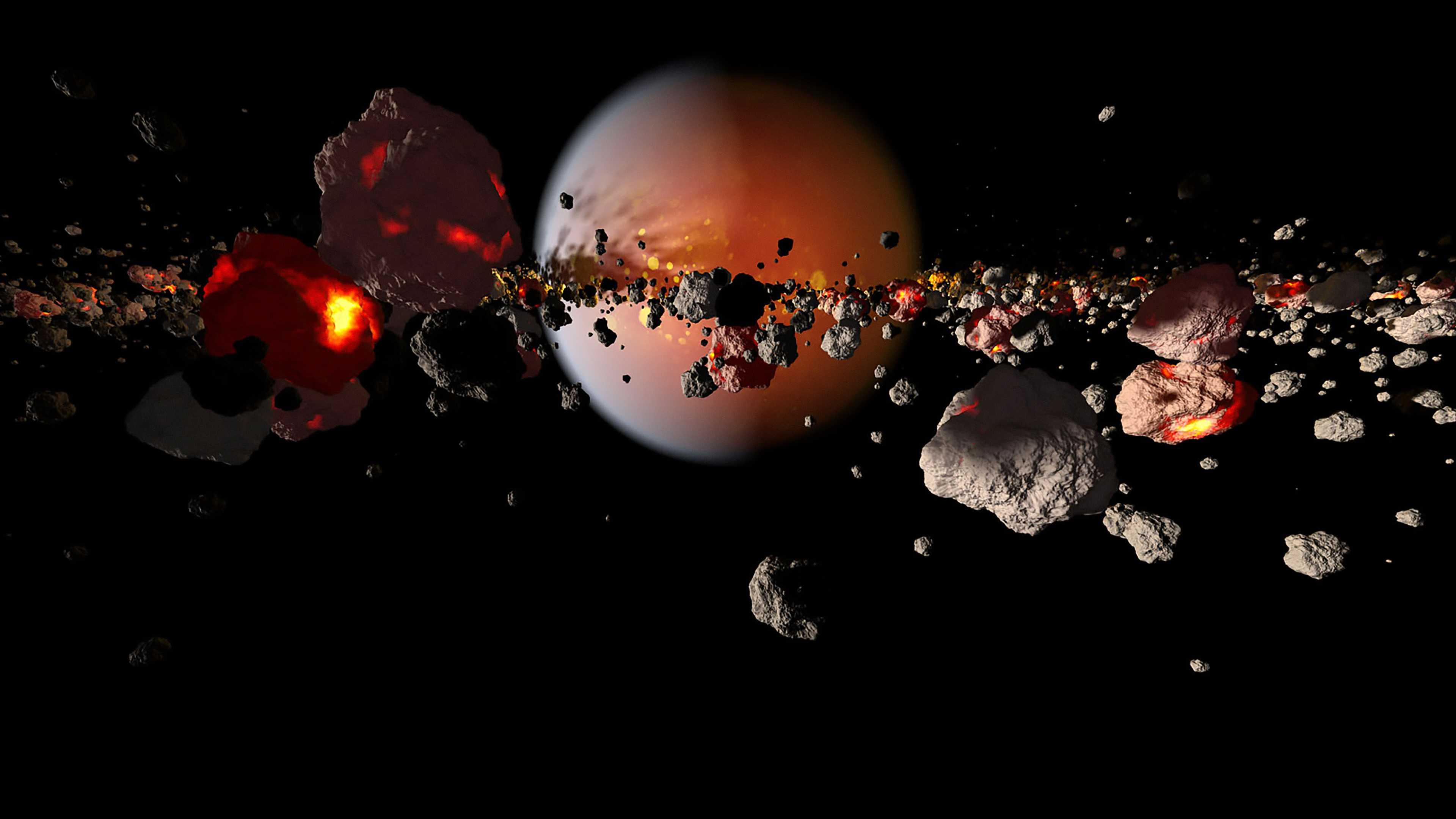Ученые выяснили, что у Земли и Венеры была «бурная» молодость