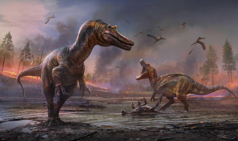 Обнаружены два новых крупных хищных вида динозавров