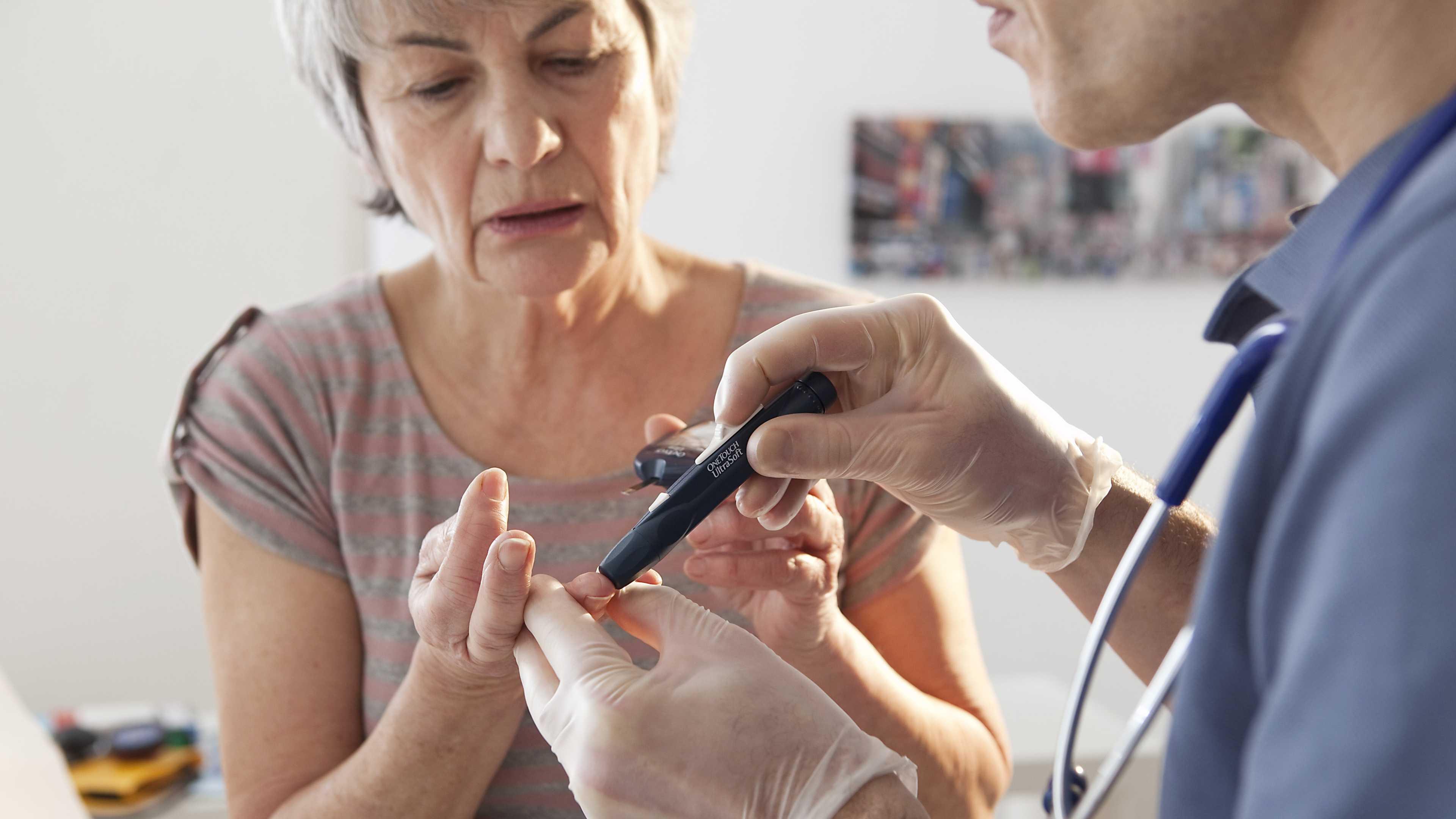 Риск смерти от COVID-19 при диабете второго типа выше, чем первого