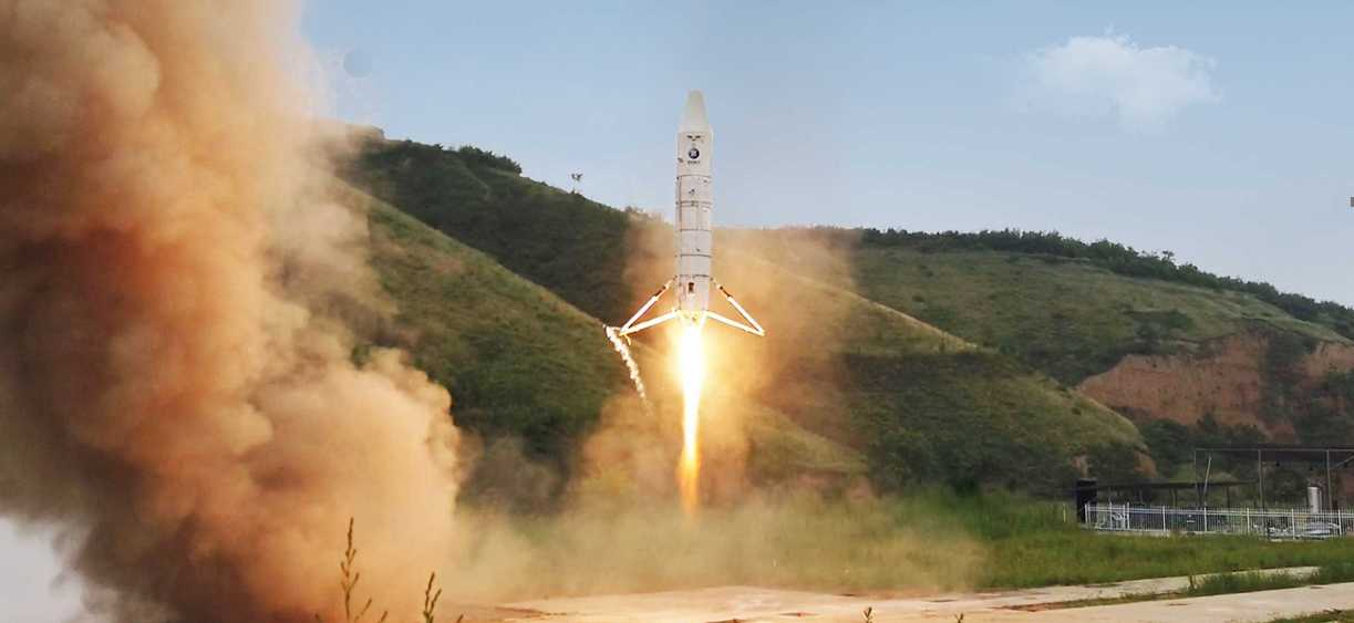 Китайцы запустили и посадили прототип многоразовой ракеты Nebula-M1